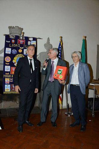 Passaggio della Campana al Lions Poggio a Caiano Carmignano Medicei (foto Regalami un sorriso onlus)