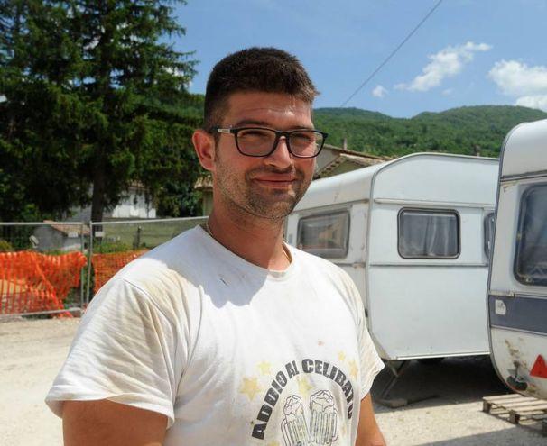 Mario Troiani, allevatore (foto Calavita)