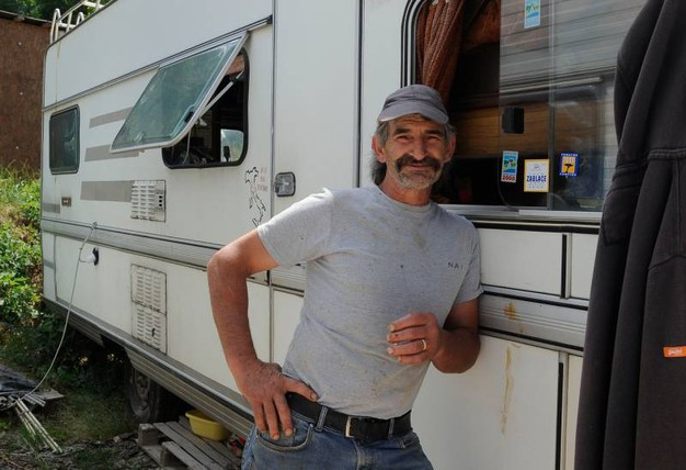 Fabio Troiani, titolare di una macelleria (foto Calavita)