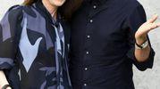 Fiorello insieme alla moglie Susanna (Olycom)