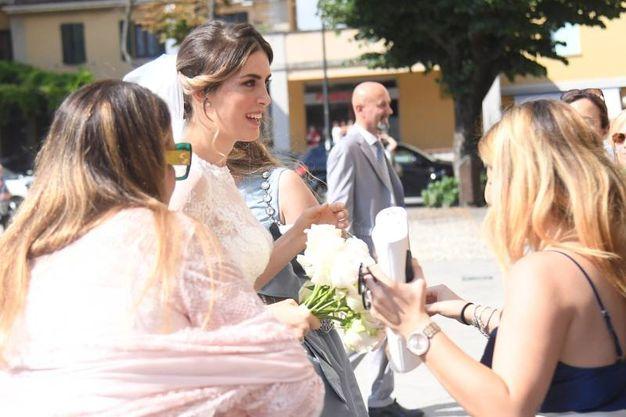 L'arrivo della sposa (Foto Schicchi)