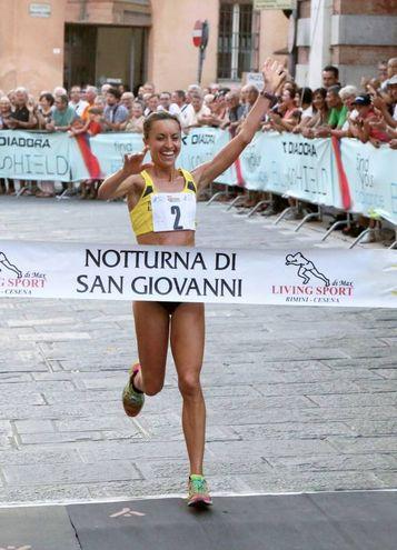 Valentina Facciani, prima delle donne (foto Ravaglia)
