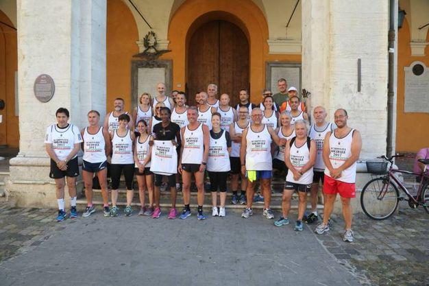 Alcuni dei partecipanti (foto Ravaglia)