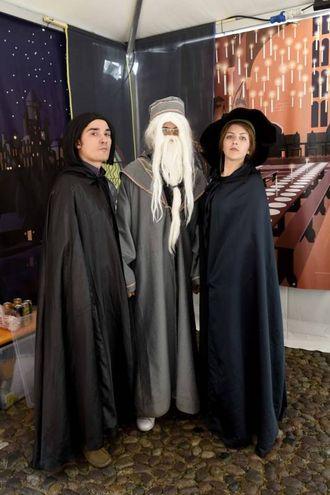 Hogwarts in gita a Ferrara (foto Businesspress)