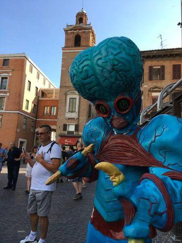 Mostri e alieni invadono Ferrara fino a stasera