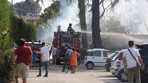Un incendio (Foto di repertorio)