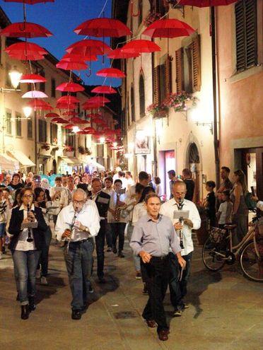 La banda di Santa Cecilia  (foto Ravaglia)