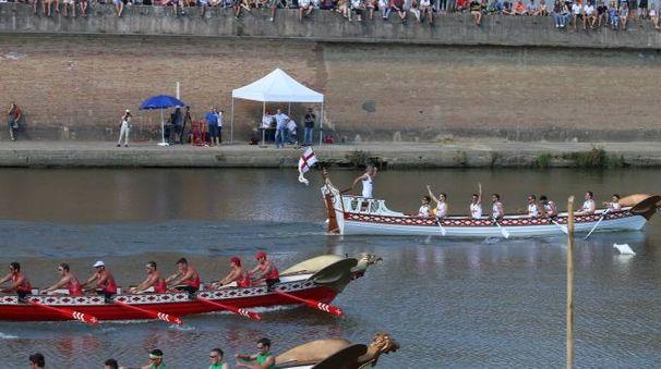 Genova vince la regata delle Repubbliche Marinare (foto Valtriani)
