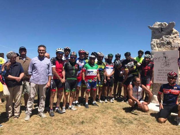 I ciclisti al monumento