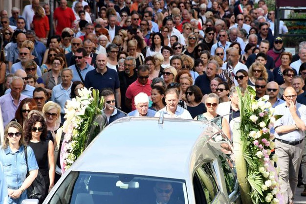 Il funerale di Gabriella Gabrielli (foto di Paola Nizza)