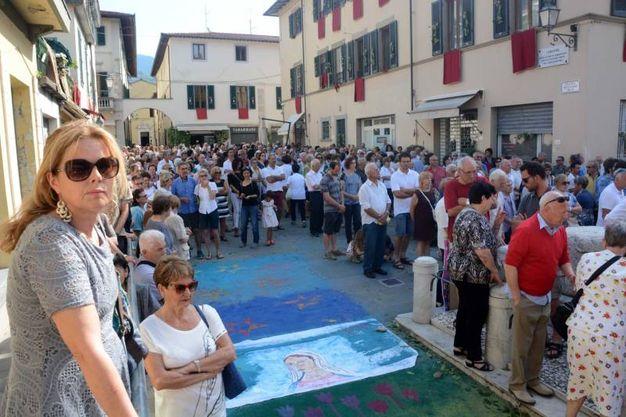 Camaiore, la processione per il Corpus Domini (foto Aldo Umicini)