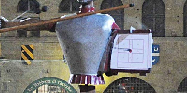 Primo piano del punteggio di Gianmaria Scortecci di Porta Santo Spirito (Tavanti)