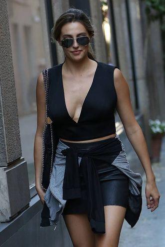 Sophia e Sistine Stallone a Milano per la settimana della moda