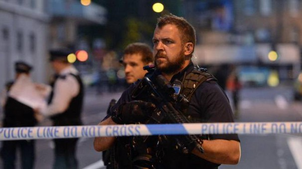 Attentato a Londra (foto Ansa)