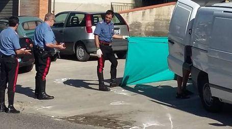 Incidente mortale a Monsampolo (foto Iezzi)