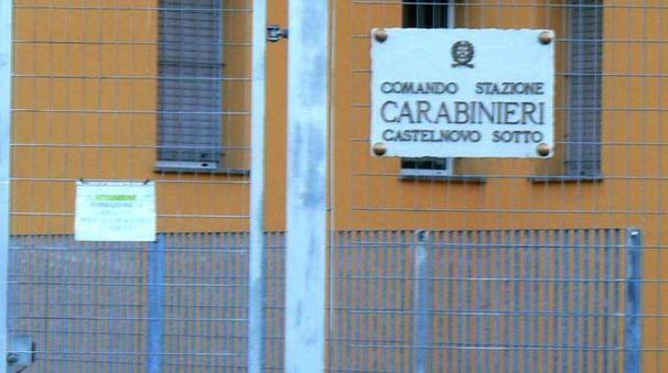 Sono intervenuti i carabinieri di Castelnovo Sotto