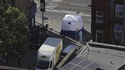 Londra, il furgone dell'attacco (Ansa)