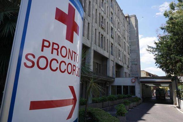 L'esterno dell'ospedale San Giovanni Bosco (Ansa)