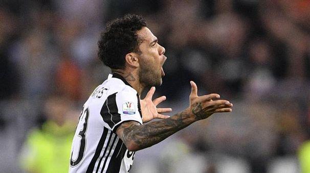 Daniel Alves, difensore della Juventus