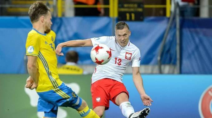 Polonia-Svezia 2-2 (Ansa)