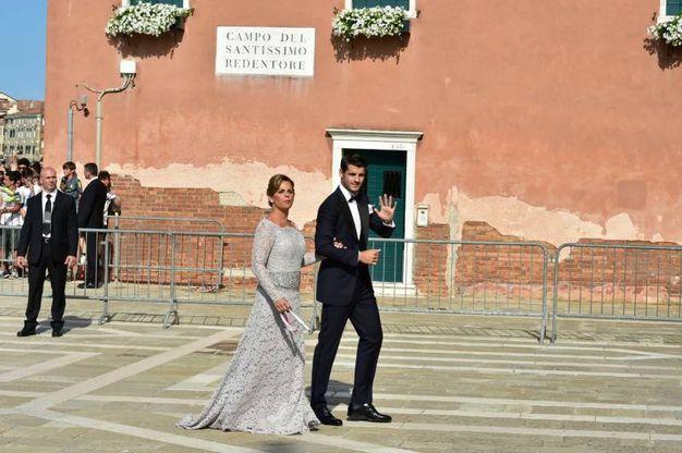 L'arrivo dello sposo (Lapresse)