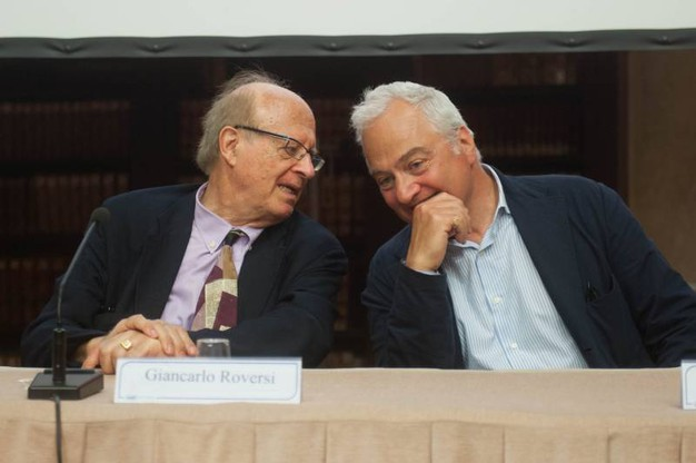 Giancarlo Roversi e Duccio Caccioni (foto Schicchi)