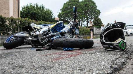 Drammatico incidente a Fagnano Olona (Newpress)