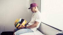 F1, gli orari del Gp di Azerbaijan a Baku. Nella foto Lewis Hamilton (LaPresse/Instagram)