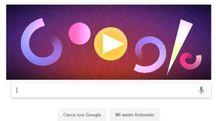 Il doodle di Google dedicato a Oskar Fischinger
