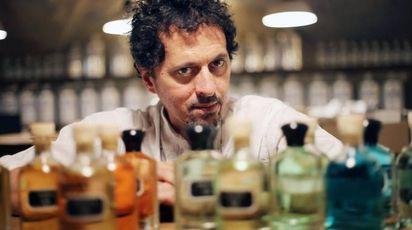Presentazione profumo di Aquaflor: il 'naso' Sileno Cheloni (Pressphoto)