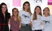 Martina Colombari all'evento Hogan Junior e Fay Junior (New Press Photo)
