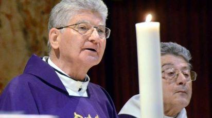 Monsignor Franco Cecchin, prevosto della città (Cardini)