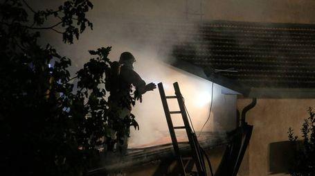 I vigili del fuoco sul posto (Zani)