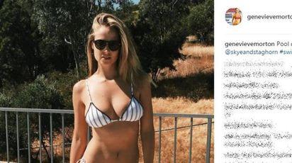 Genevieve Morton, la regina dei bikini (anche quest'anno)