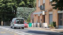 Il luogo dell'incidente a Ponticelli
