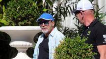 Vasco Rossi paparazzato al Grand Hotel di Rimini