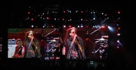 Gli Aerosmith in concerto a Firenze (Tania Bucci/New Press Photo)