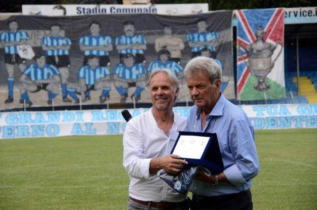 Maurizio Zandegù con Battazza / Cardini