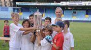 I ragazzini che hanno vinto il mini -torneo / Cardini