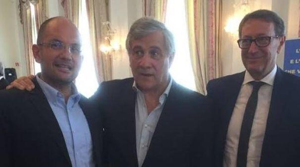Castelli e Piunti con Tajani