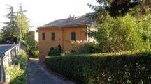 La villa derubata a Recanati (foto Tubaldi)