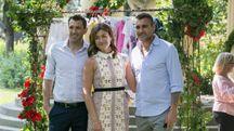Veronica Vieri con i fratelli
