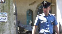 Riccione, tragedia in una palazzina di via Tasso (foto Migliorini)