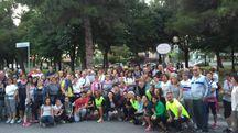 I tantissimi aderenti a un precedente raduno a Villa Fastiggi