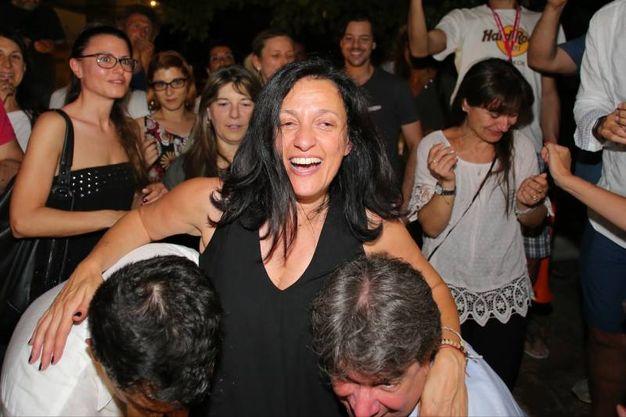 Tosi ha vinto il ballottaggio contro  Vescovi (foto Petrangeli)