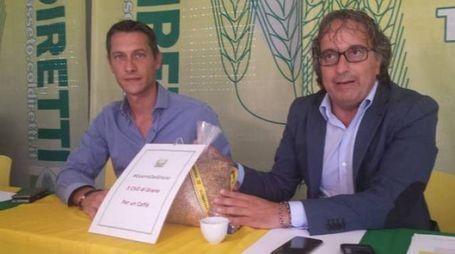 Marco Bruni e Andrea Renna, presidente e direttore Coldiretti Grosseto