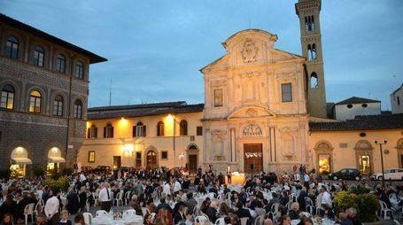 Cena sotto le Stelle - Associazione Tumori Toscana Att e Associazione Borgognissanti