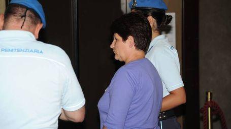 Verona Popescu in tribunale (FotoFiocchi)