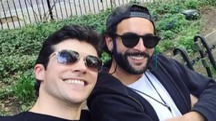 Roberto Bolle e Marco Mengoni (Instagram)