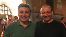 Maurizio Mazzanti e Stefano Sermenghi: la foto che ha creato un caso nel Pd